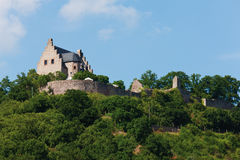 Germany,Rhineland,View of altenbaumburg castle Royalty Free Stock Image
