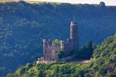 Germany,Rhineland,View of burg katz castle Stock Image