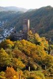 Germany, Rhineland, View of niederburg castle Stock Images