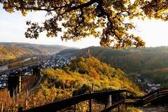Germany,Rhineland,View of niederburg castle Royalty Free Stock Image