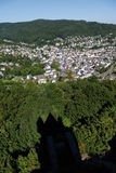 Germany,Rhineland,view of the village Nassau and shad Stock Photography