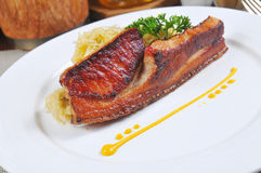 Germany roast pork Royalty Free Stock Photos
