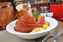 Germany roast pork