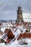 Germany romantic road town Dinkelsbuhl Royalty Free Stock Image