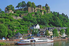 germany saarburg Royaltyfri Bild