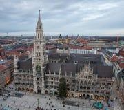 germany sala Munich nowy miasteczko Obraz Stock