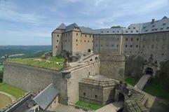 Germany, Saxony, Königstein Fortress Stock Image