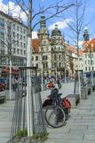 Germany. Saxony. Spring in Dresden stock images
