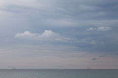 Germany, Schleswig-Holstein, Baltic Sea, clouds Royalty Free Stock Photo