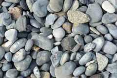 Germany, Schleswig-Holstein, Heligoland, stones at beach stock photo