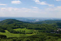Germany, Siebengebirge, Bonn town Royalty Free Stock Image