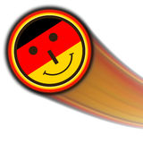 Germany smiley Stock Images