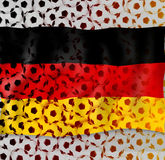 Germany Soccer. Abstract Creative Soccer Background Royalty Free Stock Photos