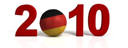 Germany soccer ball Stock Photography