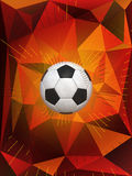 Germany Soccer Ball Background Royalty Free Stock Photos