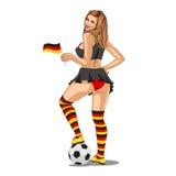 Germany Soccer Fan Stock Photos