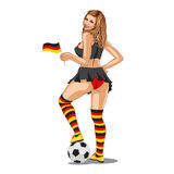 Germany Soccer Fan Stock Photos