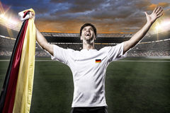 Germany soccer player Royalty Free Stock Photography