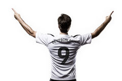 Germany soccer player Royalty Free Stock Image