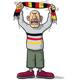Germany soccer supporter Stock Photo