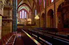 Germany. St. Peter`s Cathedral in Bremen. February 14, 2018. Germany. Bremen. St. Peter`s Cathedral in Bremen. February 14, 2018 stock photo