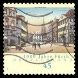 Millennium of the city of Furth stock illustration