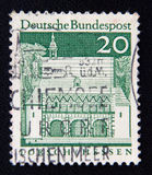 GERMANY stamp shows Carolingian gatehall, Lorsch, circa 1966 Stock Image