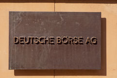 Germany Stock Exchange Royalty Free Stock Photography