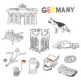 Germany symbols Royalty Free Stock Photos