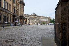 germany Teaterfyrkant i Dresden 16 Juni 2016 Royaltyfria Foton