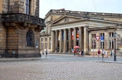 germany Teaterfyrkant i Dresden 16 Juni 2016 Royaltyfri Bild