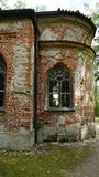 magdalenenlause small church grunge abbey munich bavaria stock photo