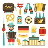Germany travel set Royalty Free Stock Photography