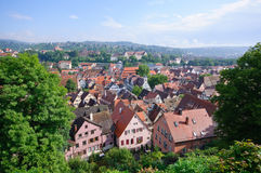 germany tuebingen Royaltyfria Bilder