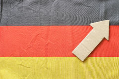 Germany up Royalty Free Stock Image