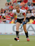 Germany V Belgium.Hockey European Cup Germany 2011 Royalty Free Stock Photo