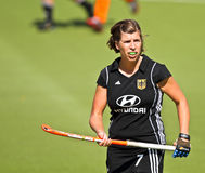 Germany V Spain.Hockey European Cup Germany 2011 Royalty Free Stock Photos