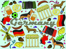 Germany vector illustration Stock Photography