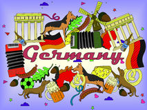 Germany vector illustration Stock Images