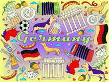 Germany vector illustration Royalty Free Stock Photography