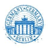 Germany vector logo design template. Shabby stamp Stock Photo