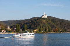 Germany, View of marksburg castle Stock Photo