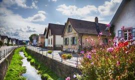 Germany village,  Baden-Baden region Royalty Free Stock Image