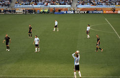 Germany vs Argentina Stock Images