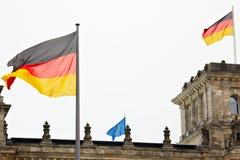 Germany vs European Union Stock Photography