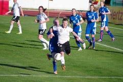 Germany vs Iceland Royalty Free Stock Image