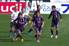 Germany vs Japan Royalty Free Stock Photos