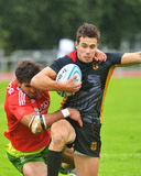 Germany vs Portugal in Rugby 7 Grand Prix Series in Moscow Stock Photo