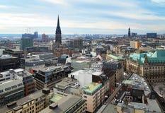 germany widok Hamburg obrazy stock