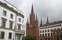 germany wiesbaden Royaltyfri Bild